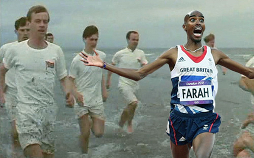 Mo Farah Chariots of Fire