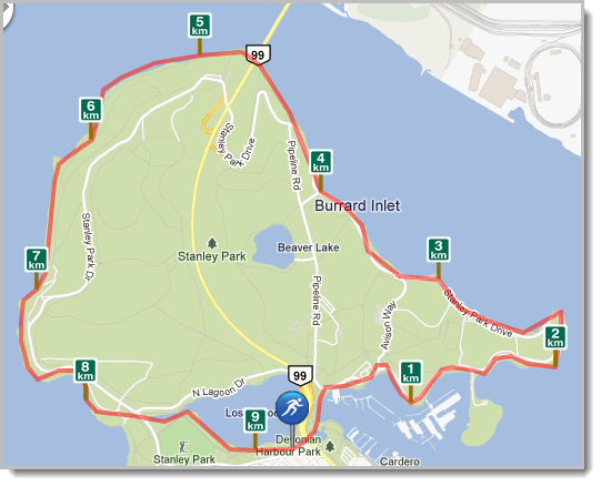 Run My Route Personal Routes - Save your own personal running maps.